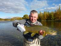 Fly fishing in the autumn can be good!