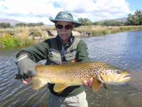 A lovely spotted brownie victim to Len's accuracy.